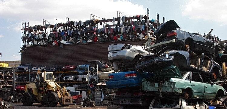 Scrap Car Facility Hamilton Waikato